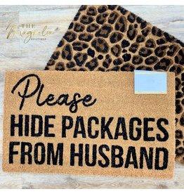 Hide the Packages Doormat