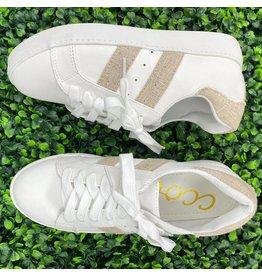 White/Silver Iris Sneakers