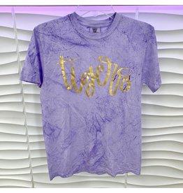 Purple Tee w/ Gold Tiger Foil