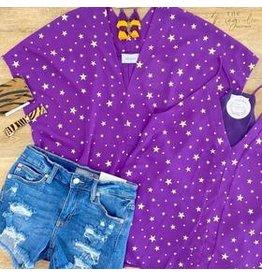 Purple/Gold Stars Tank