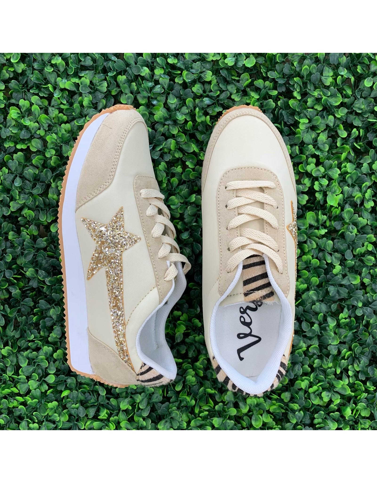 Cream Vintage Sneakers