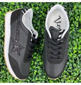 Black Vintage Sneakers