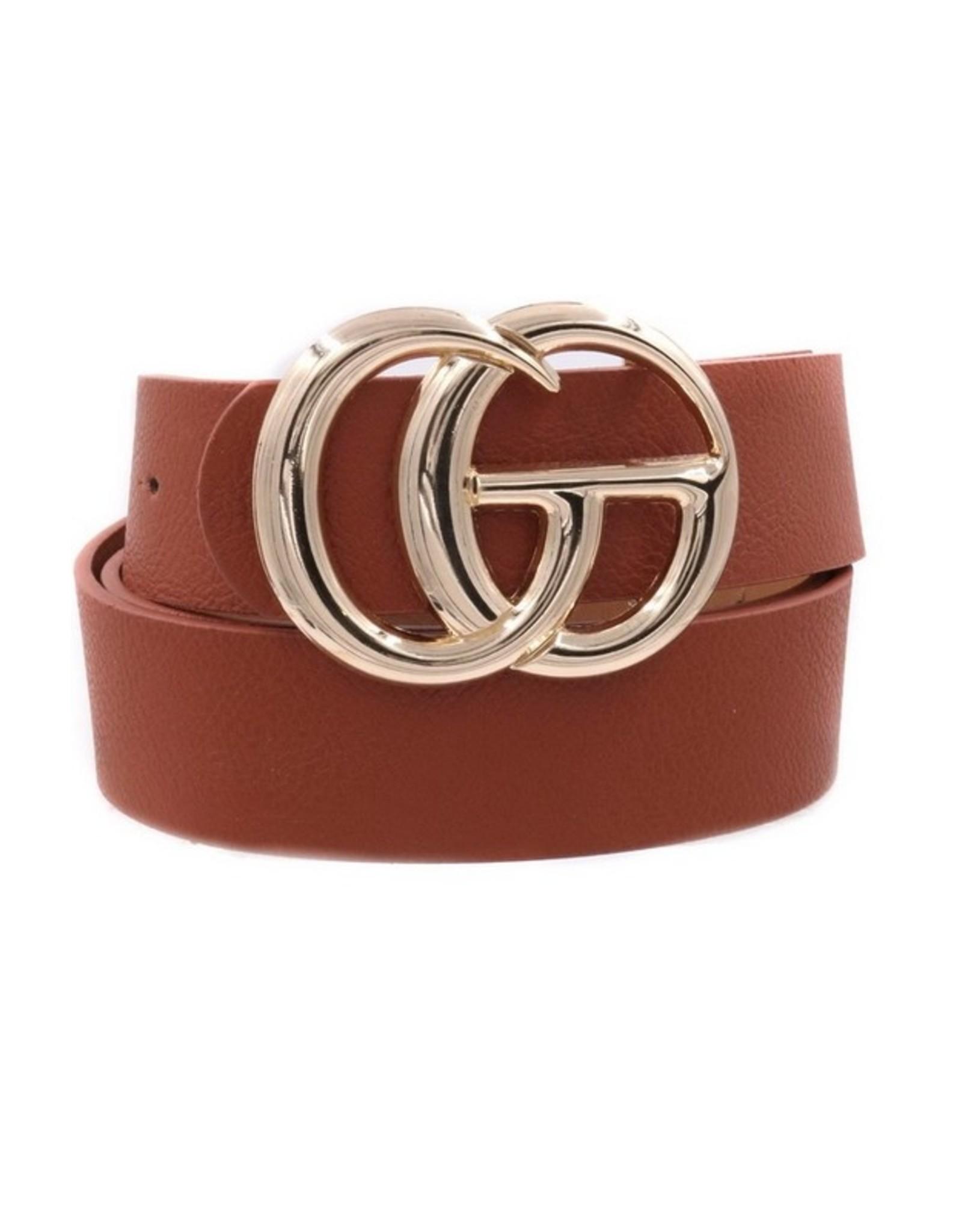 """Brown 1.25"""" GO Belt"""