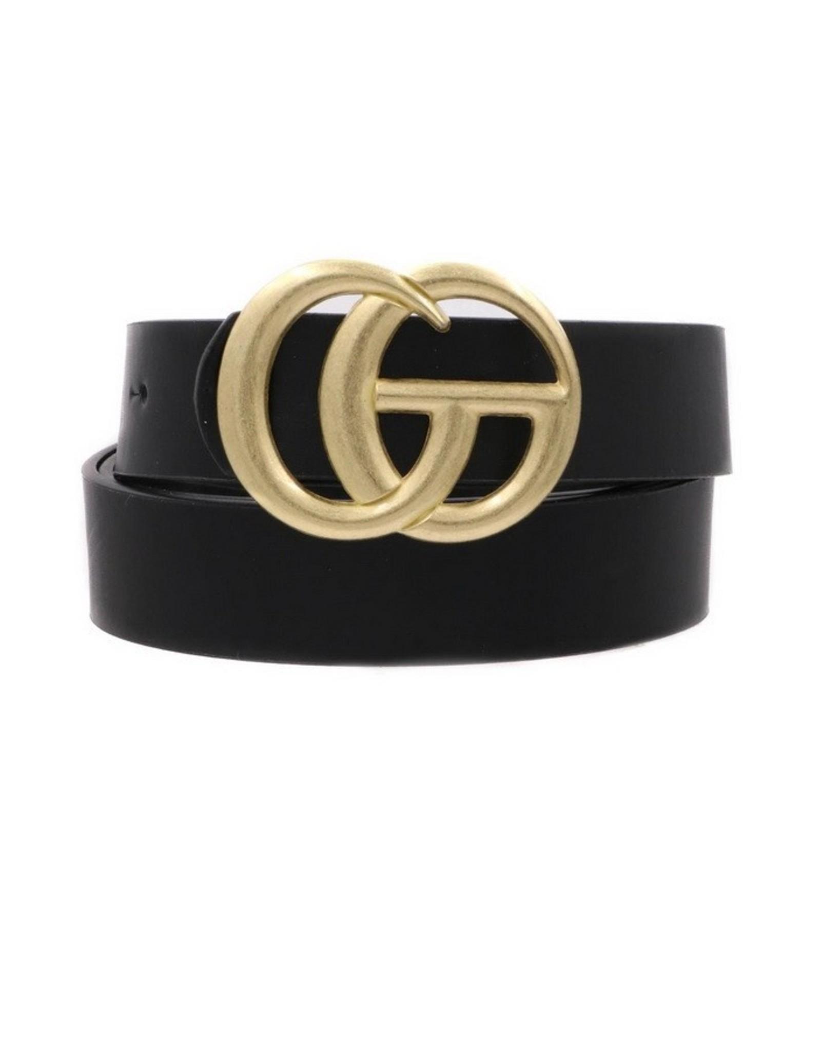 """Black 1"""" GO Belt"""