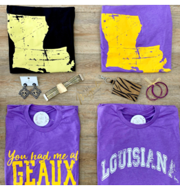 You Had Me At Geaux Purple Tee
