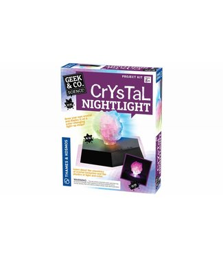 Geek & Co. Science Crystal Nightlight