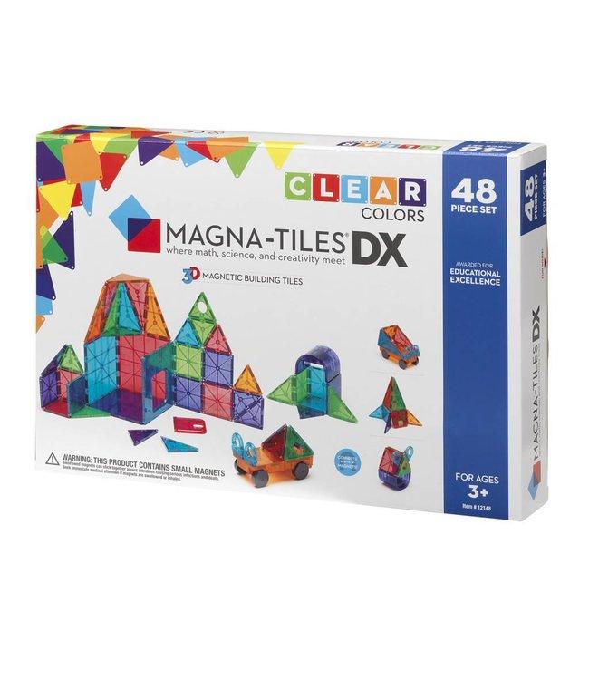 Magna-Tiles Magna-Tiles Clear Color 48 Piece