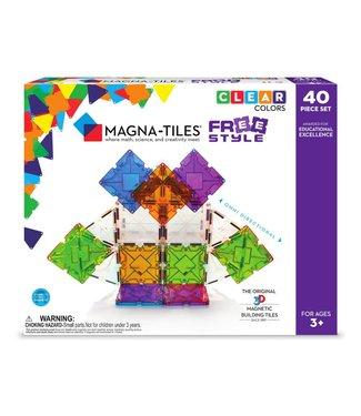 Magna-Tiles MAGNA-TILES® Free Style 40 - Piece set