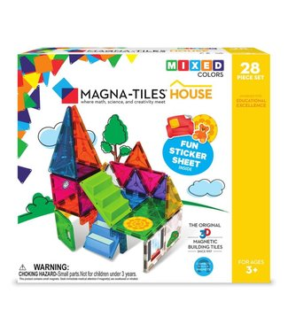 Magna-Tiles MAGNA-TILES® House - 28-Piece set