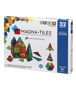 Magna-Tiles Magna-Tiles Clear 32 Piece Set