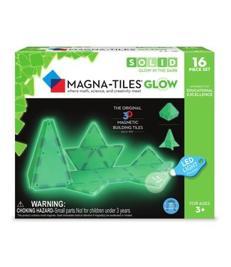 Magna-Tiles Magna-Tiles Glow 16 Piece Set