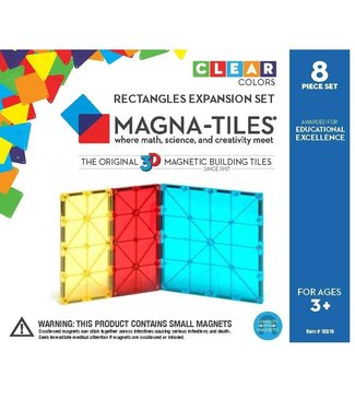 Magna-Tiles MAGNA-TILES Rectangles 8 Piece Expansion