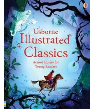 Usborne Illustrated Classics Action Stories for Young Readers