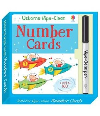 Usborne Wipe-clean Number Cards