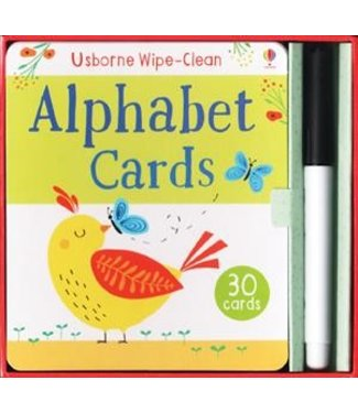 Usborne Wipe-clean Alphabet Cards