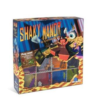 Blue Orange Shaky Manor