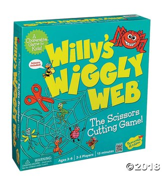 Peaceable Kingdom Willy's Wiggly Web