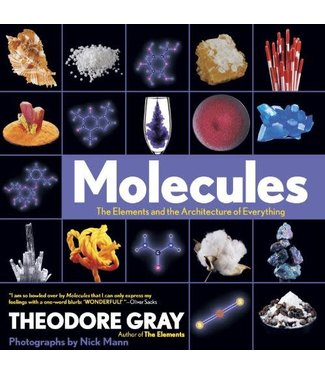 Abrams Books Molecules: The Elements and the Architecture of Everything