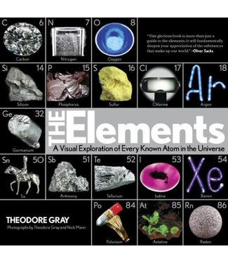 Abrams Books Elements: A Visual Exploration of Every Known Atom in the Universe