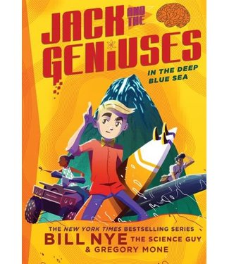 Abrams Books Jack and the Geniuses In the Deep Blue Sea (#2)