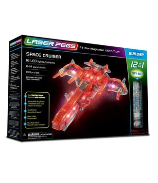 Laser Pegs Space Cruiser 12 in 1