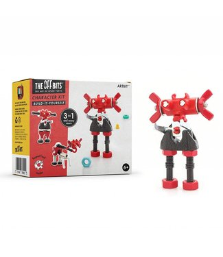 Fat Brain Toys OffBits - ArtBit (Red)