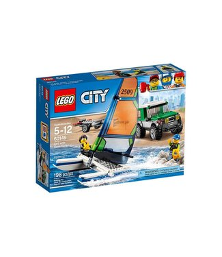 LEGO 4x4 with Catamaran - 60149