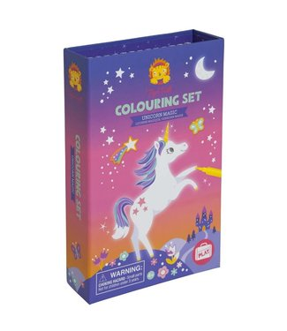 Schylling Unicorn Magic Colouring Set