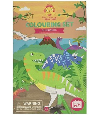 Schylling Dinosaurs Colouring Set