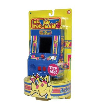 Schylling Ms. Pac-Man Retro Arcade Game