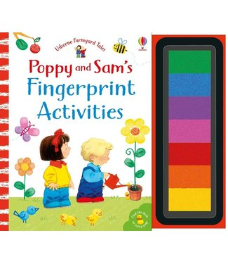Usborne Fingerprint Activities (Poppy and Sam)