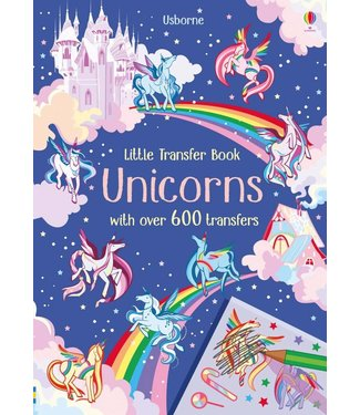 Usborne Little Transfer Books - Unicorns
