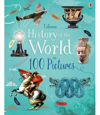 Usborne History of the World in 100 Pictures