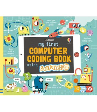 Usborne My First Coding for Beginners Using Scratch Jr