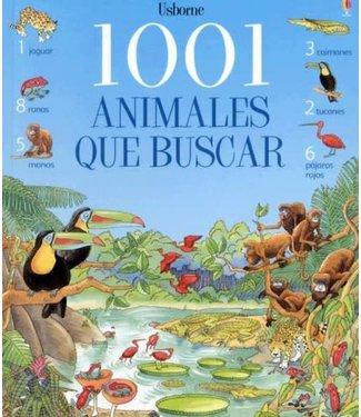Usborne 1001 Animales Que Buscar