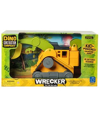 Educational Insights Dino Construction Company - Wrecker the T-Rex Skid Loader