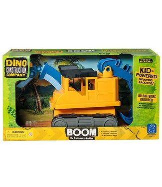 Educational Insights Dino Construction Company - Boom the Brachiosaurus Backhoe