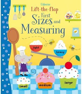 Usborne Life-the-Flap Sizes and Measuring