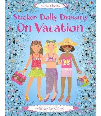 Usborne Sticker Dolly Dressing - On Vacation