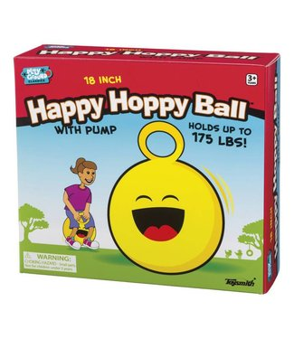"Toysmith 18"" Happy Hoppy Ball"