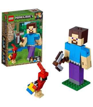 LEGO Minecraft Steve BigFig with Parrot - 21148