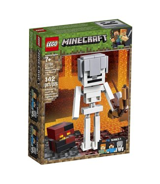 LEGO Minecraft Skeleton BigFig with Magma Cube - 21150