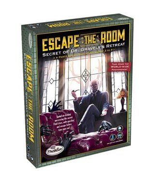 Thinkfun Escape the Room: Secret of Dr. Gravely's Retreat