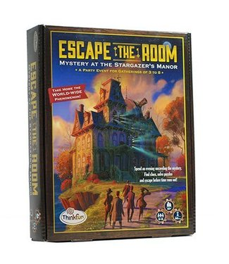 Thinkfun Escape the Room: Mystery at the Stargazer's Manor