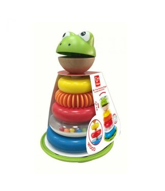 Hape Mr.frog stacking rings