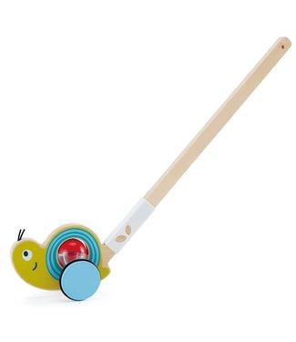Hape Snail Push Pal