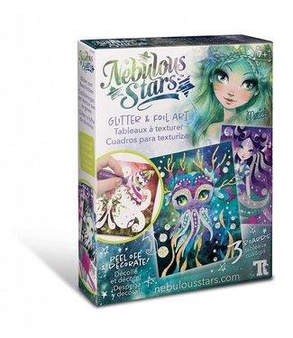 Hape Nebulous stars Glitter & foil art