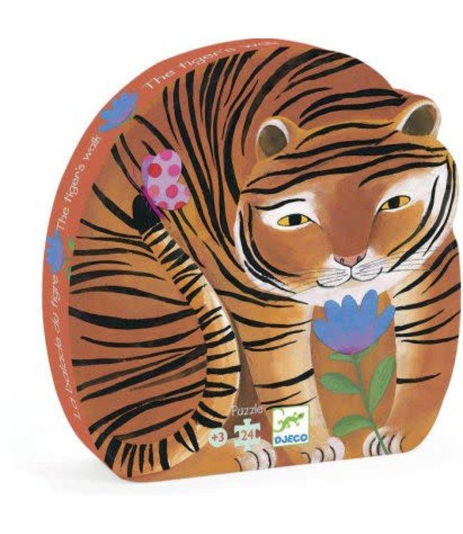 Djeco The Tiger's Walk Puzzle
