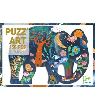 Djeco PUZZ'Art - Elephant