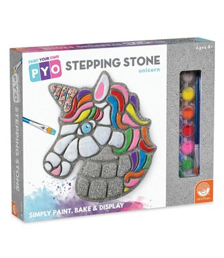 Mindware Paint Your Own - Unicorn Stepping Stone